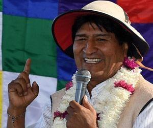 Bolivia busca integración y justicia: Morales