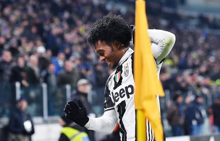 Cuadrado le da la victoria a Juventus con este golazo