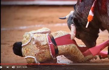 Dolorosa cornada a torero: esfínter y recto, destrozados