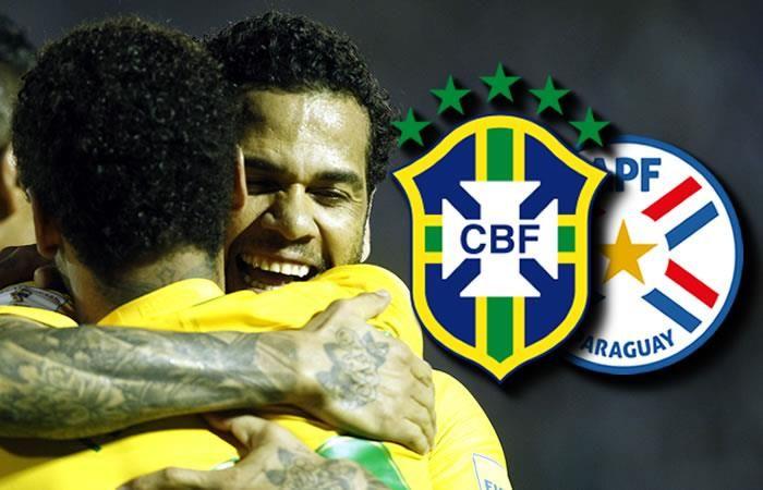 Brasil vs. Paraguay: Hora y transmisión EN VIVO