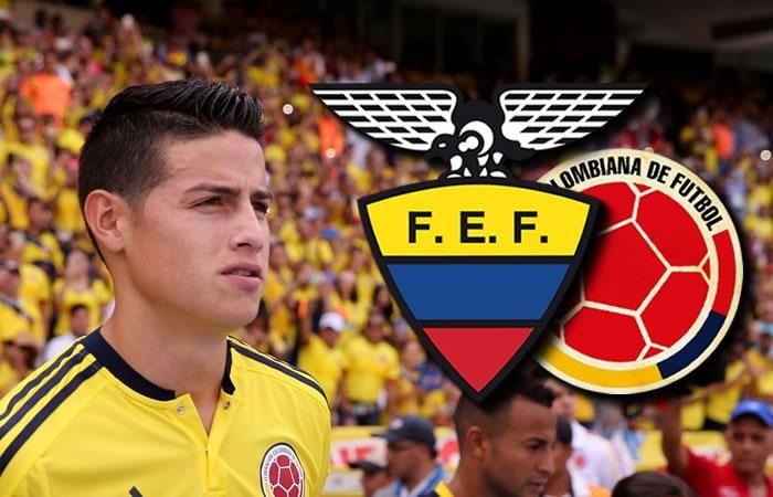 Ecuador vs. Colombia: Hora y transmisión EN VIVO