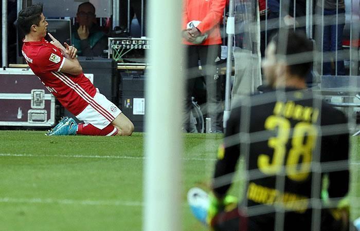 Bayern Múnich le dio una paliza al Borussia Dortmund