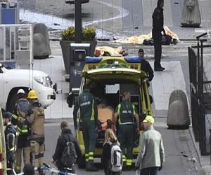 Bolivia condena ataque terrorista en Suecia
