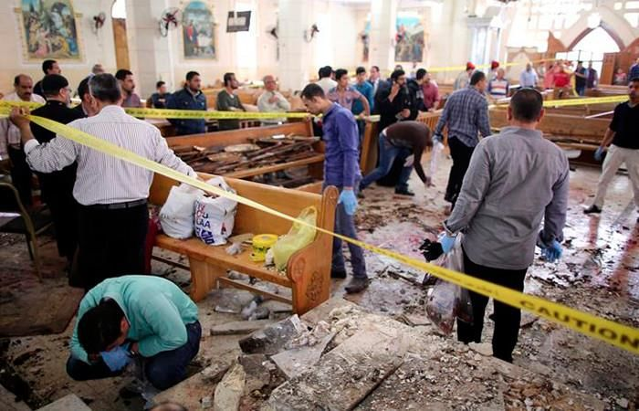 Egipto: Al menos 28 muertos en atentados contra dos iglesias