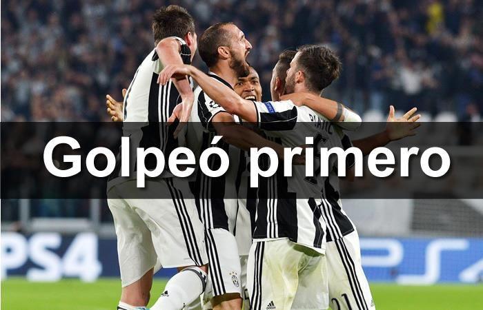 Juventus golpeó al Barcelona