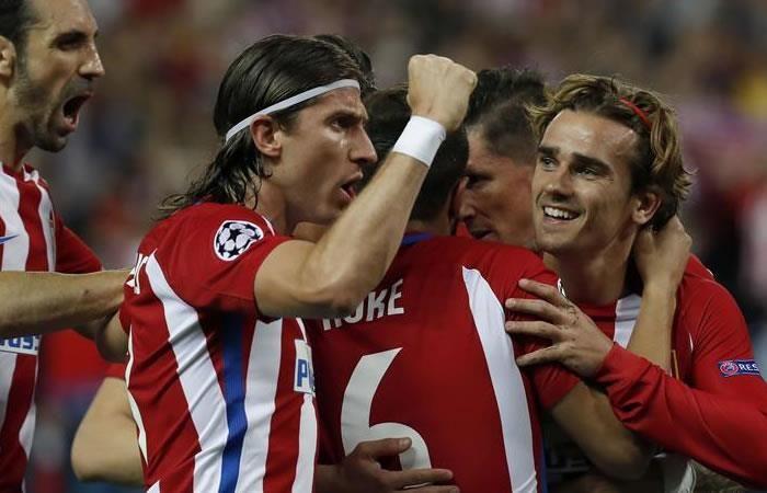 Champions League: Atlético hizo respetar su casa y ganó al Leicester