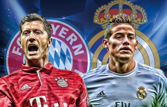 Bayern Múnich vs. Real Madrid: Hora y transmisión EN VIVO
