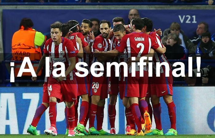 Atlético de Madrid deja en el camino al Leicester
