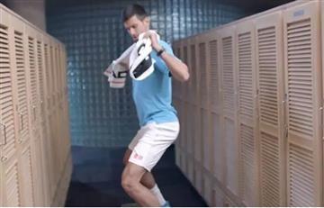 Novak Djokovic es furor en redes sociales con gracioso baile