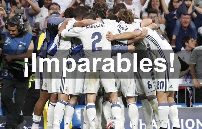 Real Madrid ganó, goleó y se clasificó a la semifinal de la Champions