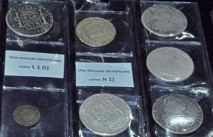 Bolivia recupera monedas históricas acuñadas en Potosí