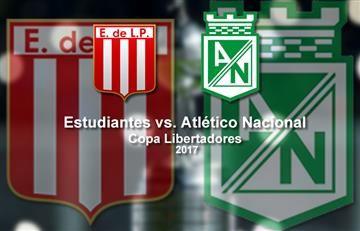 Estudiantes vs. Atlético Nacional: EN VIVO