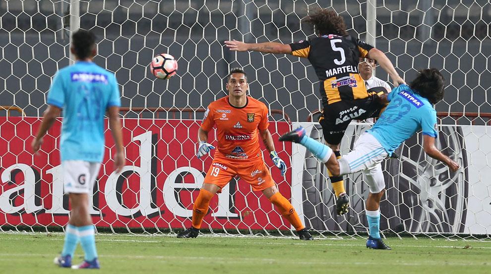 The Strongest logra un empate ante Sporting Cristal