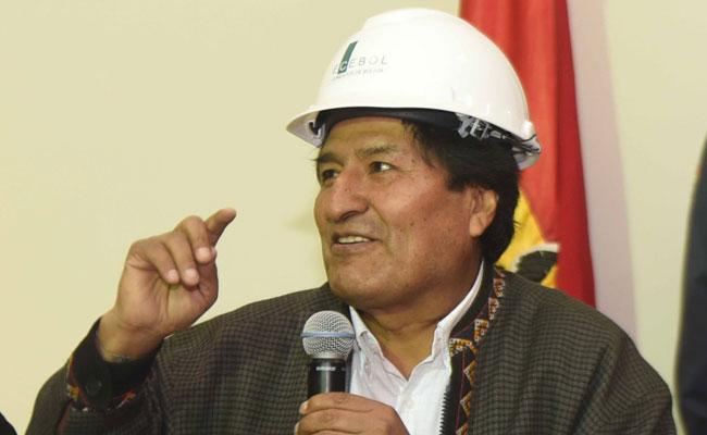 Morales destaca que Uruguay se haya sumado al proyecto del tren bioceánico