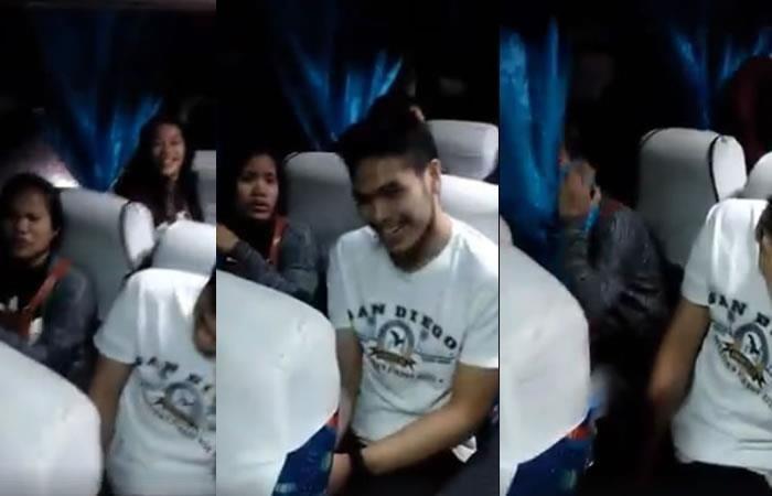 Facebook: El joven que le gustaba se sentó a su lado y ella reaccionó así