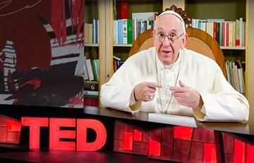 Papa Francisco sorprende con ingenioso Ted Talk