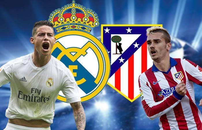 Real Madrid vs. Atlético de Madrid: Transmisión EN VIVO