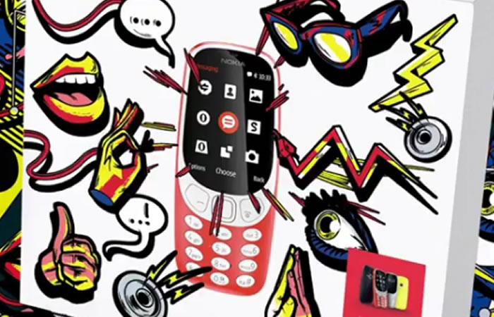 Nokia 3310. Foto: Instagram