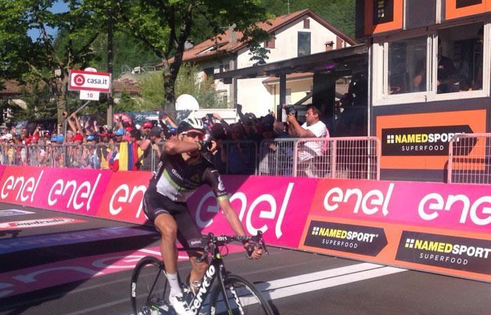 Giro de Italia: Omar Fraile se lleva la etapa 11