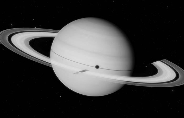 Saturno: Este es el color real del planeta