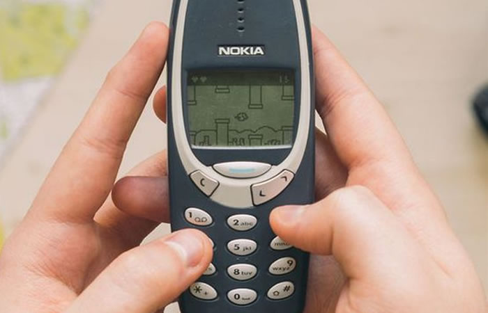 Nokia 3310. Foto: Twitter