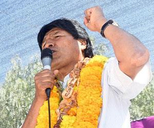 Evo Morales tilda a Trump de 'déspota' y 'ridículo'