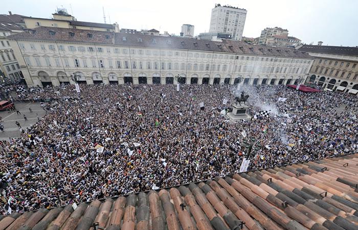 Estampida de hinchas de la Juventus deja más de 200 heridos
