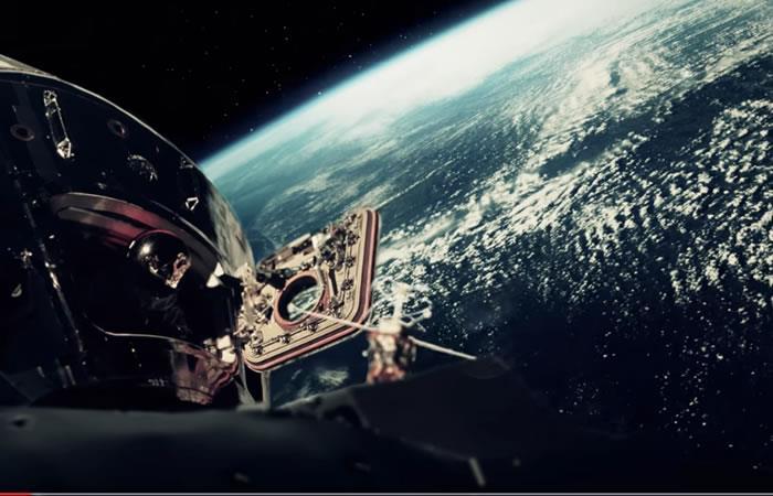 Video registra la llegada del hombre a la Luna con fotos de la NASA