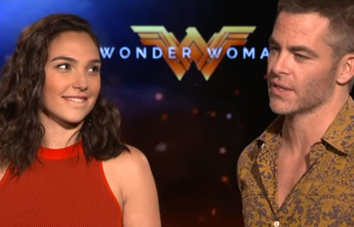 Mujer Maravilla: El evidente coqueteo entre sus protagonistas