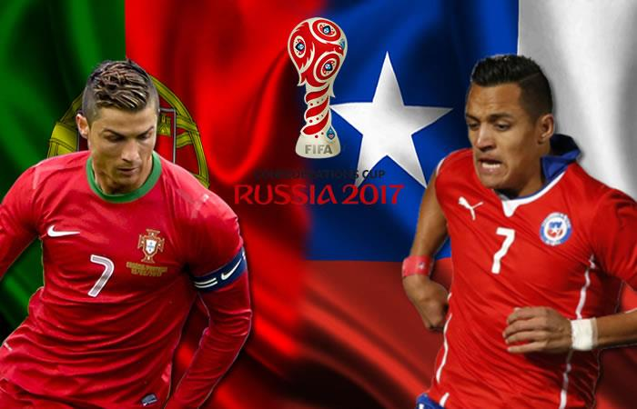 Portugal vs. Chile: Final anticipada en la Copa Confederaciones