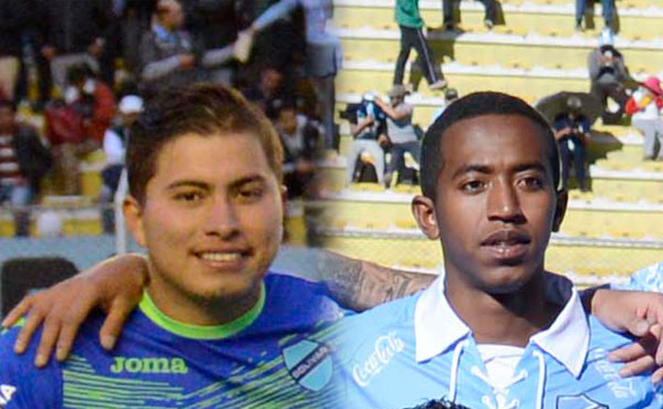 Quiñonez y Arrascaita con su futuro en Santa Cruz