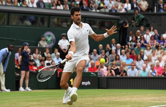 Wimbledon: Djokovic pasa a cuartos tras batir a Mannarino