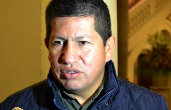 Luis Sanchez, ministro de Hidrocarburos. ABI