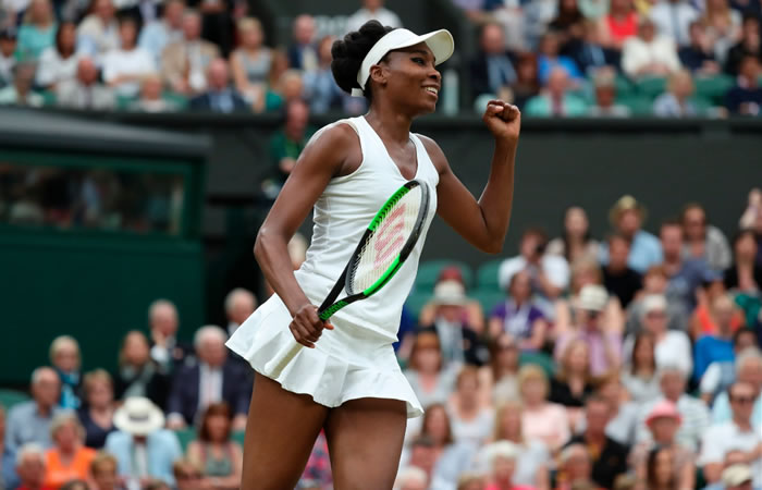 Venus Williams. Foto: Twitter
