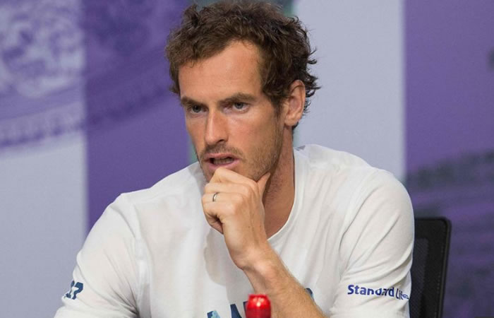Andy Murray. Foto: AFP