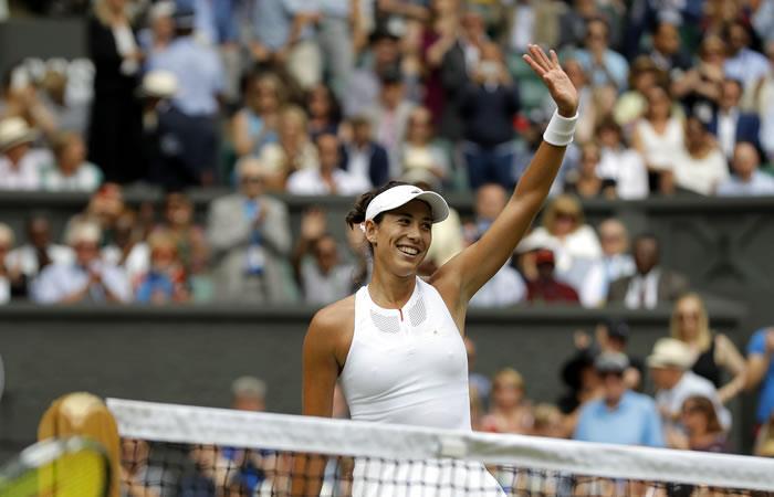 Wimbledon: Muguruza a la gran final tras vencer a Rybarikova