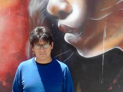 El escritor Rodrigo Urquiola Flores. Foto: ABI