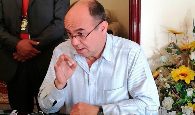 Reymi Ferreira, ministro de Defensa. ABI