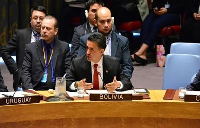 Llorenti califica de antidemocrático al Consejo de Seguridad de la ONU