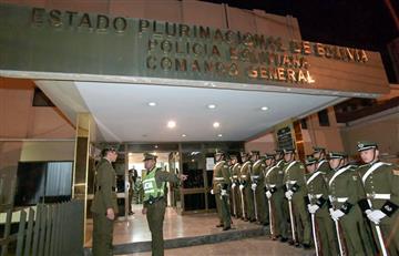 Policía de La Paz celebra 191 años de creación