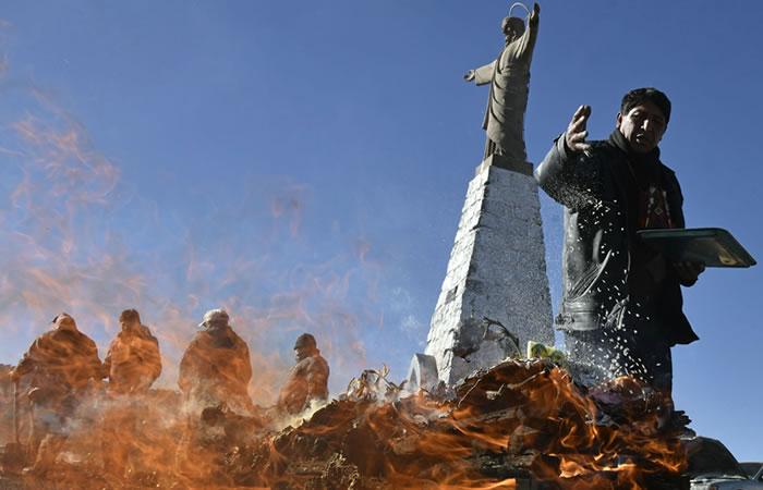 Las ceremonias se desarrollan durante todo el mes. Foto: AFP