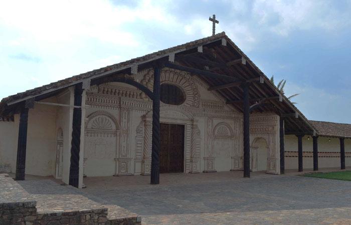 Iglesia misional en San Javier, departamento de Santa Cruz. Foto: ABI/Archivo