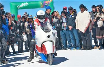 Uyuni recibe la 'Carrera Internacional de Máxima Velocidad 3600'