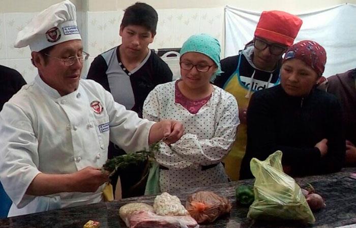 Invitan a talleres gastronómicos previos al evento Saborea y Vive La Paz