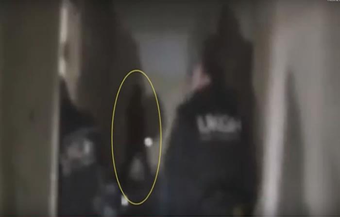 Cazadores paranormales graban escolofriante escena en base naval