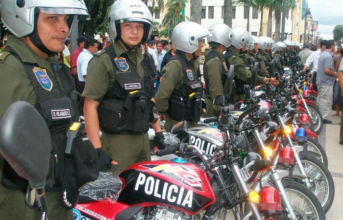 Policía frustra robo a entidad financiera en Santa Cruz