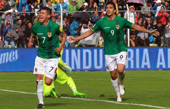 En la fecha 14, jugada el 28 de marzo, Bolivia derrotó en La Paz a su par de Argentina por 2-0. Foto: ABI/Archivo