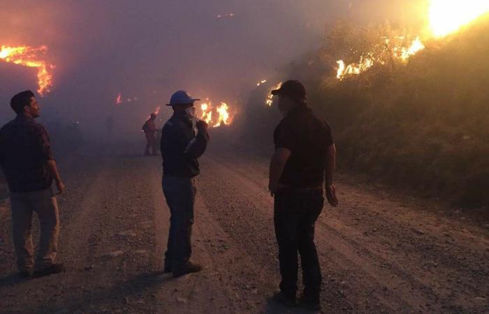 Tarija: Confirman muerte de cadete que ayudaba a controlar incendio