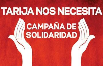 Activan campaña solidaria por Tarija