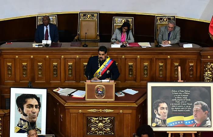 Nicolás Maduro recibe apoyo de la constituyente tras amenazas de Trump